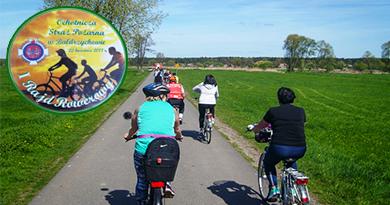 Pierwszy w tym roku rajd rowerowy w Gminie Poddębice