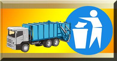 Informacja o terminie zbiórki odpadów wielkogabarytowych oraz zużytego sprzętu elektrycznego i elektronicznego