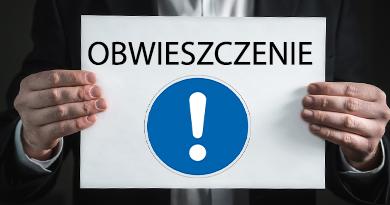 Ogłoszenie o sprzedażny nieruchomości rolnej w Pradze